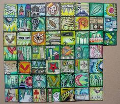 52 inchies for swapping by Phizzychick!, via Flickr