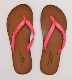 AEO Braided Flip-Flop | American Eagle Outfitters ae.com...getting these this summer