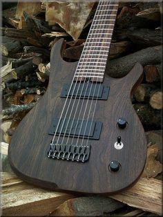 8 string baritone 30'' scale, very old European Walnut top