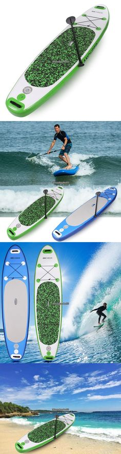 Stand Up Paddleboards 177504: Inflatable 10Ft Stand Up Inflatable Paddle Board >63In Adjustable Paddle 2Color -> BUY IT NOW ONLY: $264.11 on eBay!