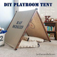 DIY Kids Playroom Tent