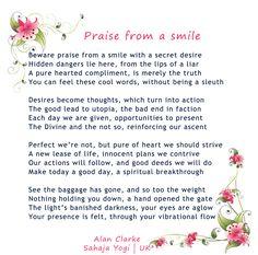 Sahaja Yogi - Alan Clarke, UK Poem.