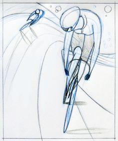 nice bike drawing bicycles