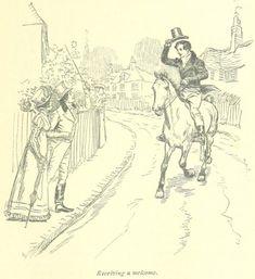 Jane Austen Mansfield Park – receiving a welcome Jane Austen Mansfield Park, Illustrations, Illustration Art, Victorian Illustration, Jane Austen Novels, Romance, Classic Literature, Ink Pen Drawings, Modern Artists