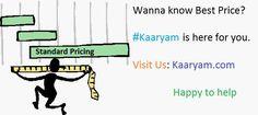 Follow us: Participate in #kaaryam Standard  Price Revaluation @KaaryamService  http://kaaryam.com