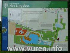 Speelbos De Kleine Waterlinie * Vuren/Betuwe *    In het Lingebos is een superstoer speelbos met een heus speelfort, soldaten en kanonnen. Hier kun je de hele middag met water kliederen, in bomen klauteren en verstoppertje spelen in het bos.