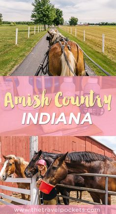 Visit to the beautiful Amish Country of Indiana in Shipshewana. Beautiful and…