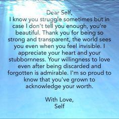 Love! #mindfulu #selfesteem #lovelovelove