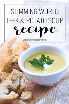 Slimming World Leek & Potato Soup Recipe