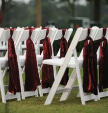 which chairs for reception wedding chairs reception chair sash