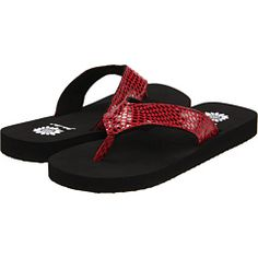 Yellow Box - brie - my sister swears these are the most comfortable flip flops