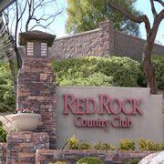Las Vegas Luxury Homes Red Rock Country Club entrance.