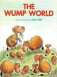Summary: The world that is so small and perfect for the dumps. They have to go through struggles of being victims of people and events out of their control. Genre: Humor Writing Techniques: sentence structure, vocabulary Writing Traits: Word choice is used as the author makes these wumps come to life that will entertain the young and the old. Peet, Bill. The Wump World. Boston: Houghton-Mifflin, 1970. Print.