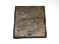 Pewter trencher, c. 1400-1500,  Height : 1 cm / Width : 17,5 cm / Depth : 14 cm, Donation: Coll. Mr. J.W. Frederiks 1994, Museum Boijmans van Beuningen