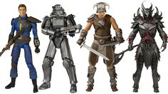 Get Your Bottle Caps Out, These Fallout And Skyrim Action Figures Look Amazing