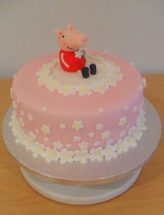 Peppa Pig Cake. by ~RebeccaRoseBrine on deviantART