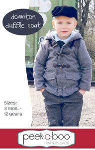 Add some class to your little one's winter wardrobe with the Downton Duffle Coat!