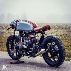 BMW Cafe Racer - Honda tank #motorcycles #caferacer #motos | caferacerpasion.com