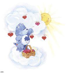 Care Bears: Grumpy Bear Hanging Hearts