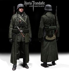 The artwork is nice, but this is nothing of a German soldier. What is this gear… Military Figures, Military Diorama, Military Art, Military History, German Soldiers Ww2, German Army, German Uniforms, Character Poses, Second World