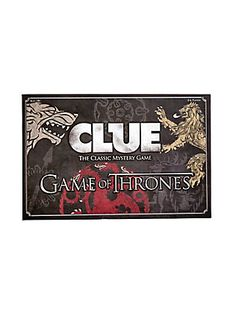 Game Of Thrones Clue,