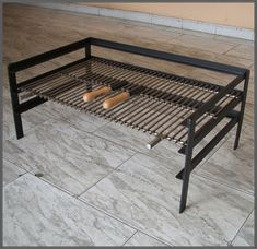 Fire Pit Cooking, Fire Pit Grill, Diy Pallet Furniture, Metal Furniture, Grill Diy, Asado Grill, Built In Braai, Outdoor Grill Station, Indoor Grill
