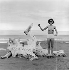 40 years of photographs of one woman and one pair of pants