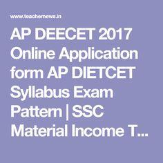 Ap Ecet  Online Apply ApecetOrg Notification Exam Dates