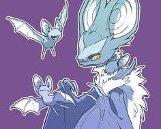 Noivern with Zubat Batty by *Mewitti on deviantART, Pokemon Pokemon Comics, Pokemon Funny, All Pokemon, Pokemon Stuff, Pokemon Cards, Flying Type Pokemon, Original Pokemon, Pokemon Images, Digimon