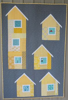 Love this house quilt