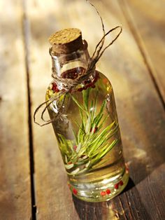 Rosemary scented olive oil