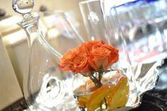babyshower; flower arrangement