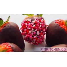 #Foodie #Strawberry #Chocolat #Love #Pinkitchen