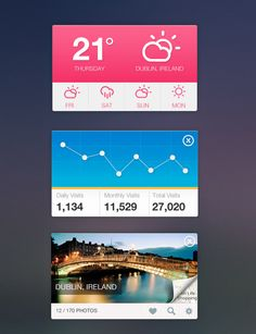 20 Mobile User Interface Design for Your Inspiration #ios7 #ios7widgets