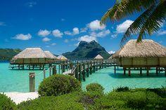 Bora Bora, one day