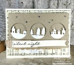 TGIF Sketch Challenge, Jingle All the Way, Sleigh Ride, Silent Night, Stampin' Up!- StampinByTheSea.com