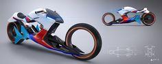 BMW i Motorrad Beta|R bike by Sebastian Martinez - Cars Concept