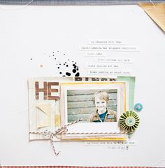 He - Marcy Penner for Crate Paper