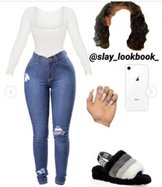 Cute Lazy Outfits, Baddie Outfits Casual, Swag Outfits For Girls, Teenage Girl Outfits, Cute Swag Outfits, Teenager Outfits, Dope Outfits, Teen Fashion Outfits, Girly Outfits