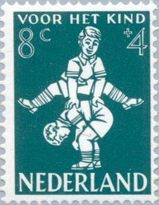 ♥ ◙ The Netherlands, Postage Stamp, 1958. ◙