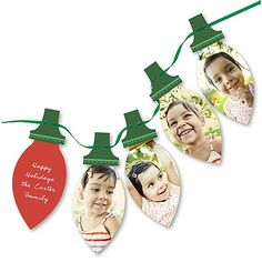 Love this Christmas card from PearTreeGreetings.com. Maybe next year when we have 4 tiny faces to include!