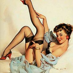 Pin Up tattoo