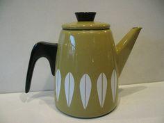 CATHRINE HOLM LOTUS COFFEE POT NORWAY RETRO MID CENTURY VINTAGE TABLEWEAR 60s