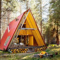 Far Meadow, Sierra National Forest, CA - Best Cabins for Getaways - Sunset