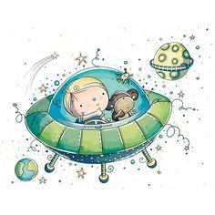 Space aventure - Rachelle Anne Miller