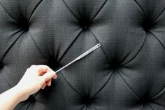 Spruce Upholstery Tip: How to Position Pleats
