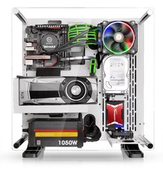 Thermaltake announced a smaller version of the Core P5 wall-mountable open frame computer chassis. The Core P3 will let you display your PC for all to see, but you won't need nearly as much hardware to fill it.