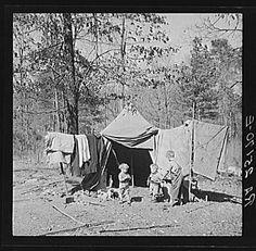 Children who live in a migrant camp on U.S. Highway No. 31, near Birmingham, Alabama
