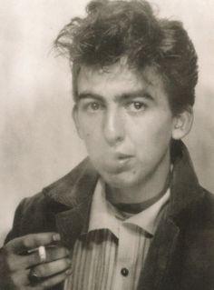 The Beatles:George Harrison, Self Portrait, 1960