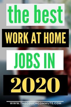 Looking ahead to 2020 at the best work from home jobs. Get a head start on every.Looking ahead to 2020 at the best work from home jobs. Get a head start on everyone else and start making money in the new year using these methods. Amazon Work From Home, Legit Work From Home, Legitimate Work From Home, Online Work From Home, Work From Home Tips, Earn Money From Home, Earn Money Online, Online Jobs, Way To Make Money